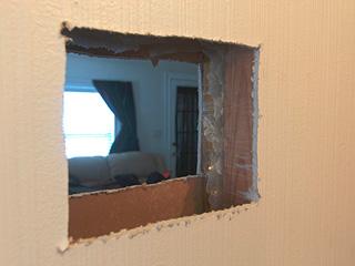 Window In An Interior Wall